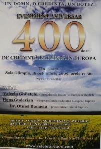 400 ani afis